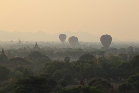 07. A different sunrise in Bagan