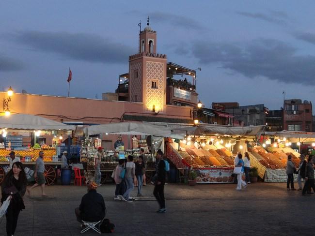 07. Piata Jema el-Fnaa