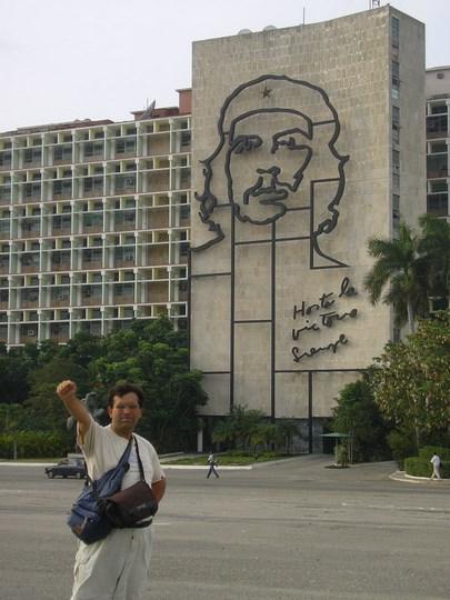 08, Statuia lui Che