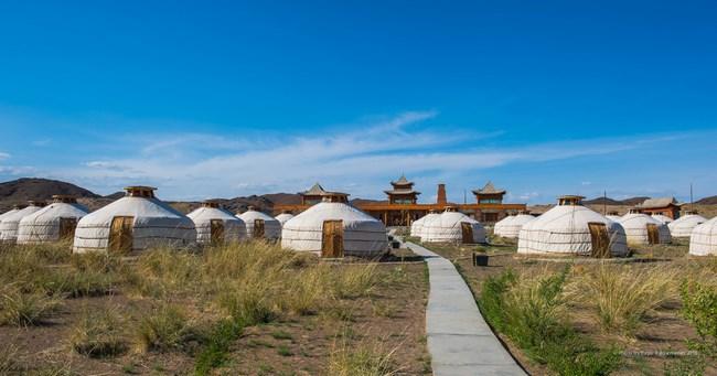 11. Camp de iurte - Mongolia