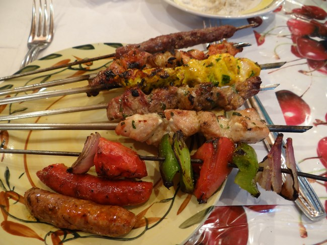 21. Mixed kebab