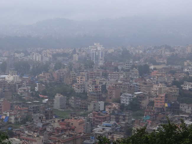 27. Kathmandu panorama