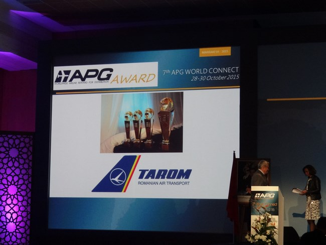 33. TAROM la APG Awards