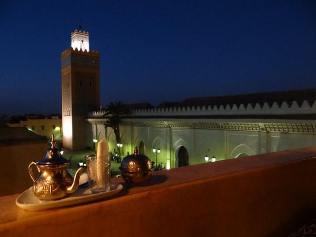 34. Marrakech by night