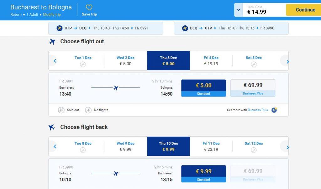 5 euro Ryanair