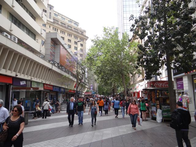 03. Strada pietonala Santiago de Chile