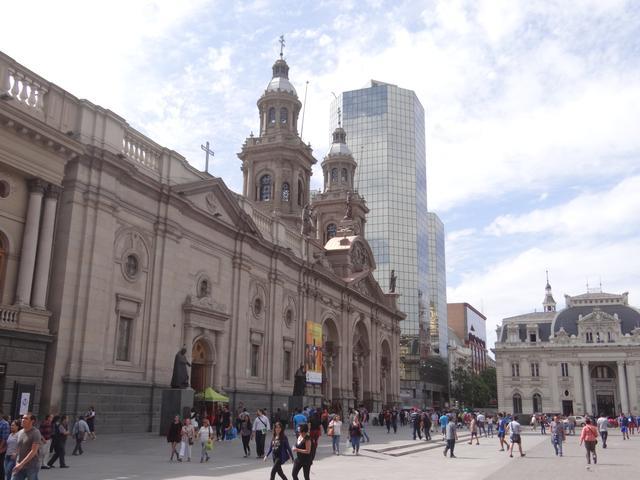 04. Piata centrala Santiago de Chile