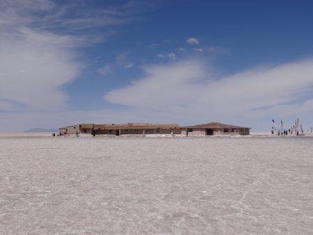 28. Hotel de sare in Salar de Uyuni