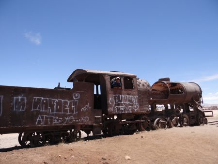 30. Cimitir de trenuri