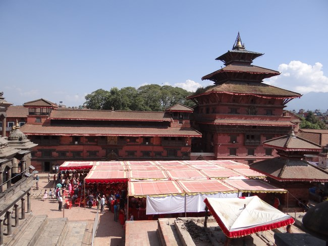 32. Palatul Regal Patan, Nepal