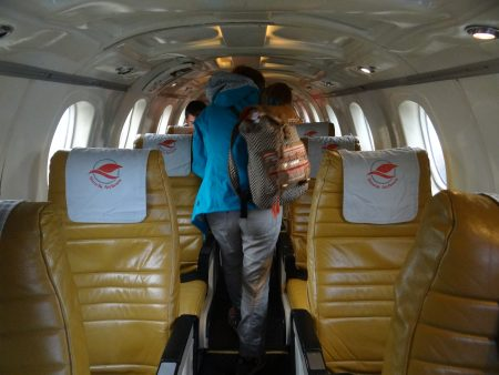 07. Interior avion Nepal