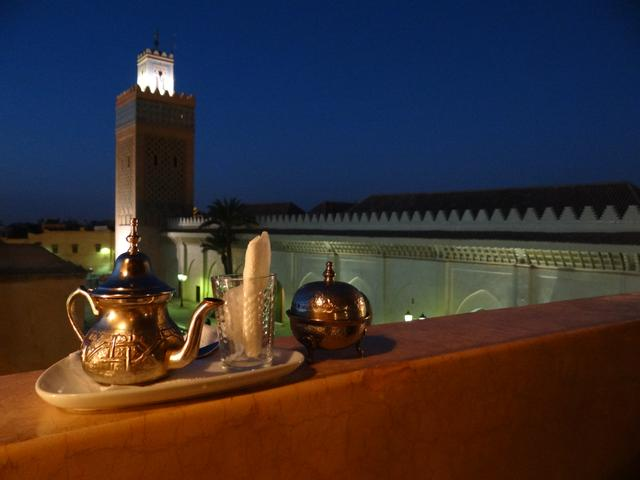 12. Seara in Marrakech