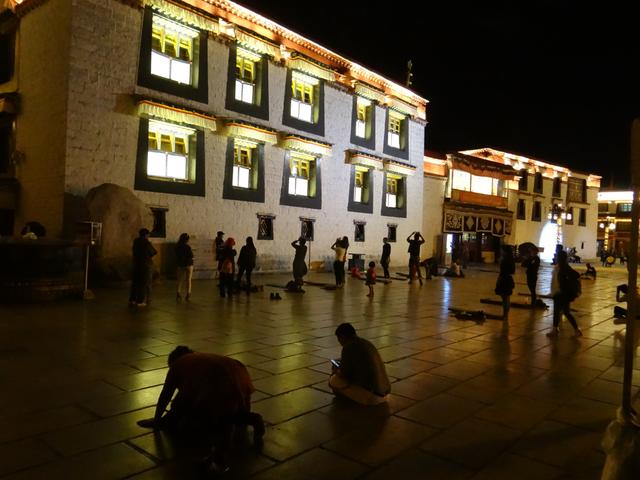 32. Lhasa by night