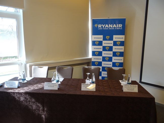 01. Conferinta presa Ryanair