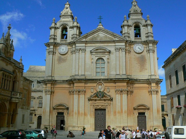 05. Catedrala din Mdina, Malta