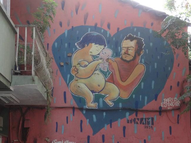 11. Grafitti in Santiago de Chile