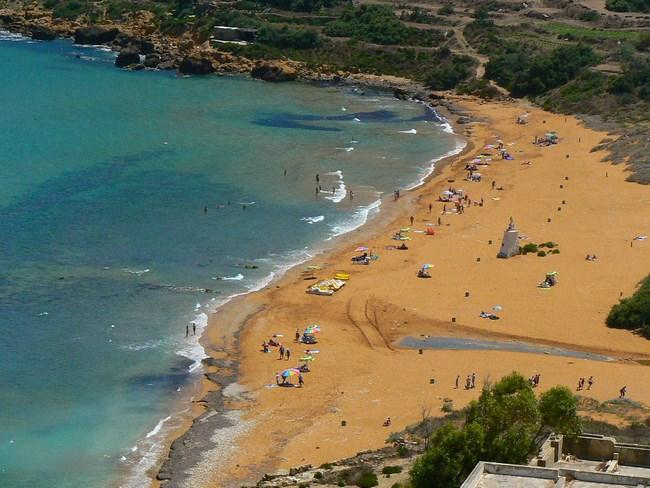 11. Plaja Rosie din Gozo, Malta