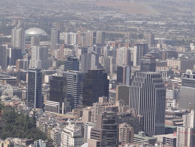 17. Santiago de Chile downtown