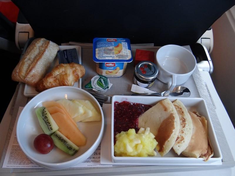 02. Breakfast menu - business class Air France