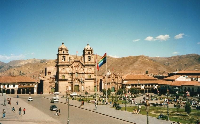 07. Plaza de Armas, centrul din Cuzco