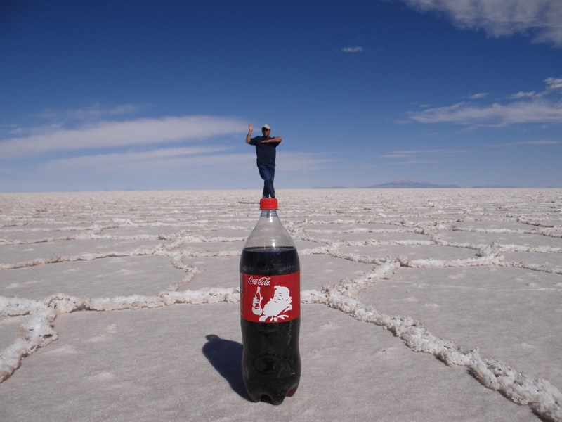 21. Coca Cola - Salar de Uyuni