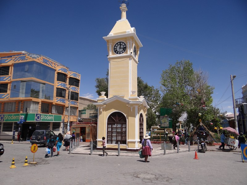 33. Uyuni clock tower