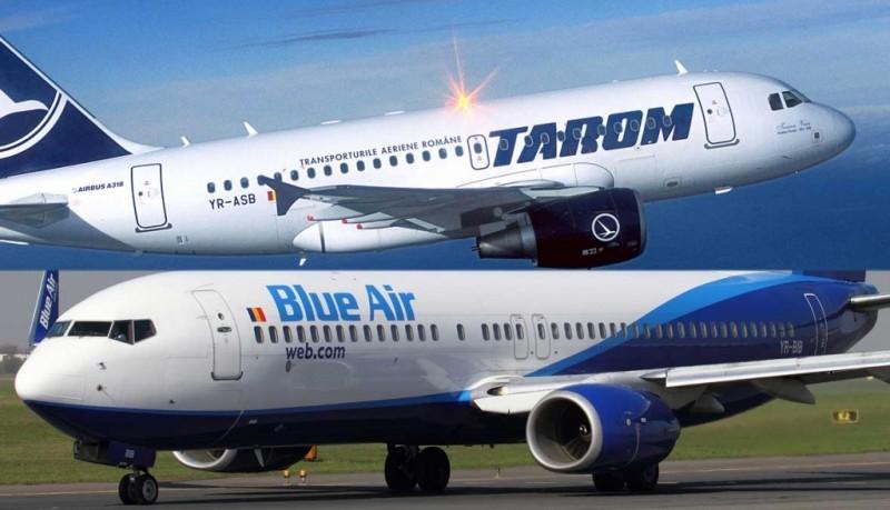Blue Air vs. Tarom