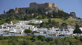 Rhodos Citadela De La Lindon