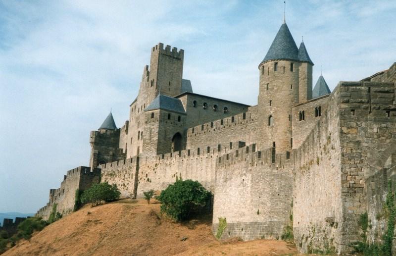 02. Cetatea de la Carcasonne