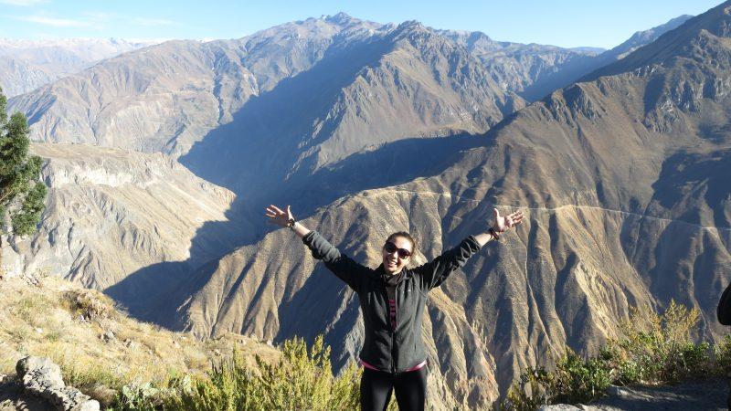 La sfarsitul Trekking-ului din Colca - Peru