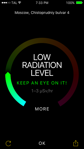 Ray Detect - 03 (low radiation)