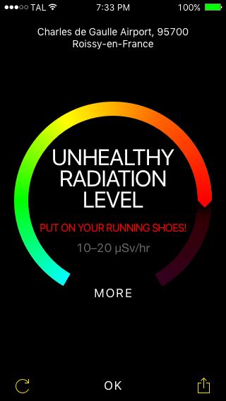 Ray Detect - 05 (unhealthy radiation)
