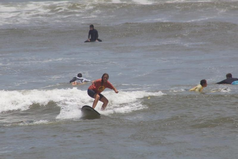 Surfing in Lima - Peru