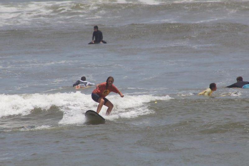 Surfing in Lima - Peru