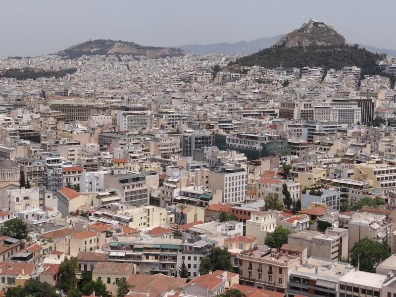 13. Panorama Atena