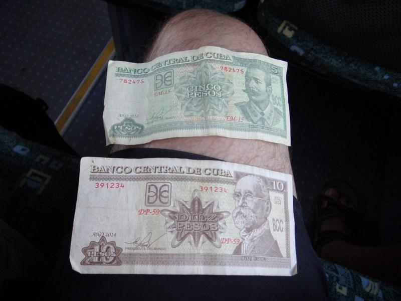 13. Peso cubanez