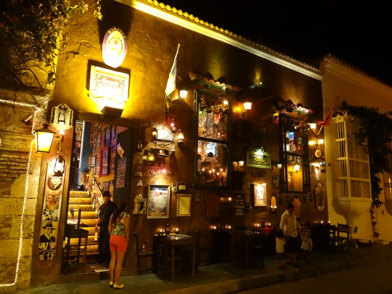 16. Petty crime in Cartagena - in this restaurant