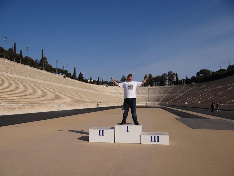 20. Stadionul de marmura din Atena