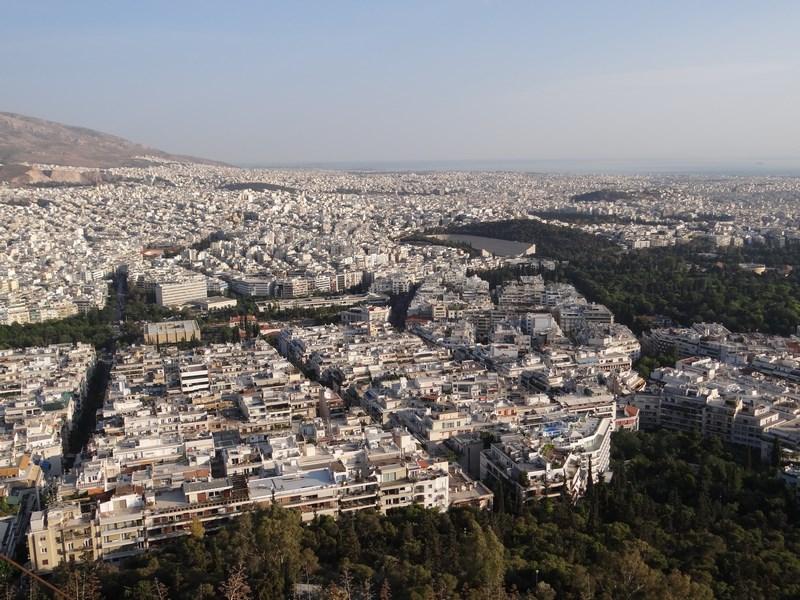21. Panorama Atena