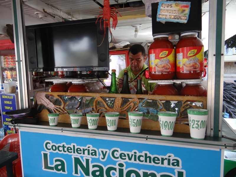 24. Street food - Colombia