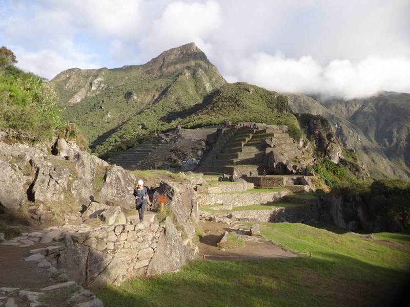 12. Dupa amiaza la Machu Picchu