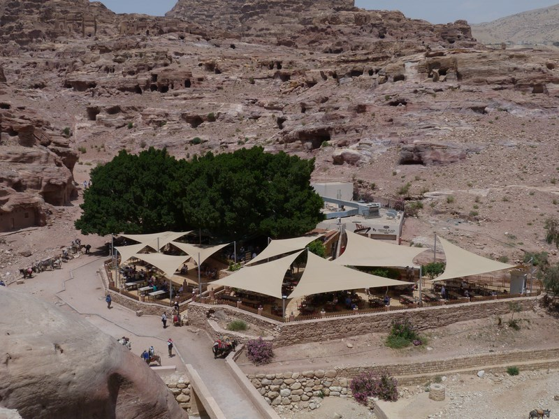 14. Restaurant in Petra