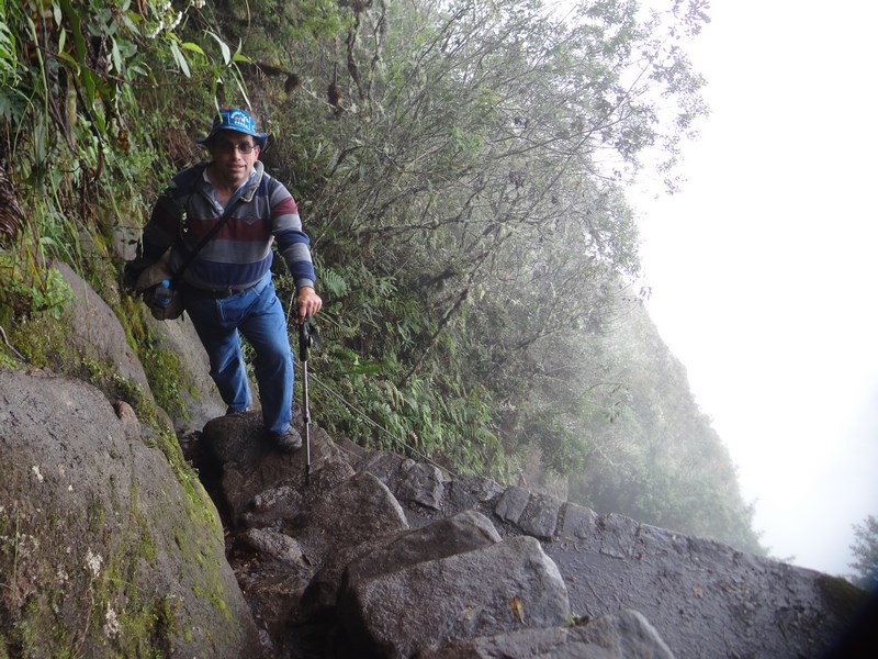 17. Urcare la Huayna Picchu