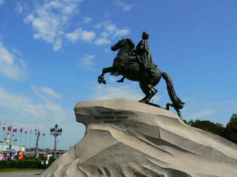 19. Statuia lui Petru cel Mare