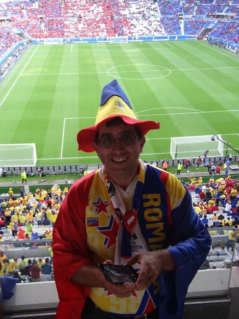 45. Meci Romania - Albania la Lyon