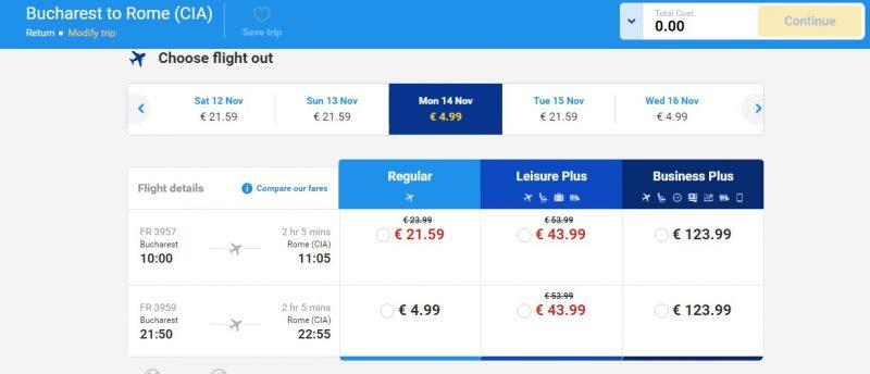 Ryanair promotie
