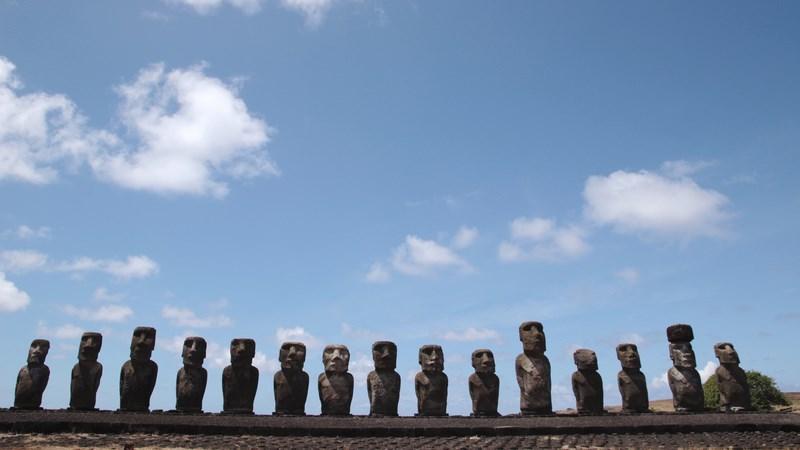 13. Rand de moai
