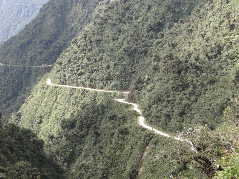27. Camino del Muerte Bolivia
