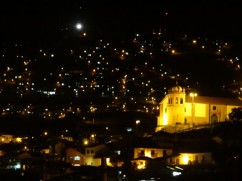 34. Cuzco by night