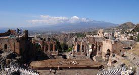 35. Teatrul Grec Taormina Catania Sicilia